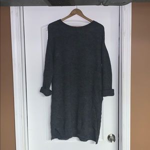 J. Crew Open Back Sweater Dress